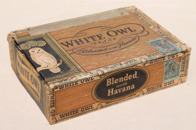 lot-of-assorted-vintage-cigar-boxes-cigar-box-collection-old-tobacco-advertising-Laurel-Leaf-Farm-item-no-nt824120-10